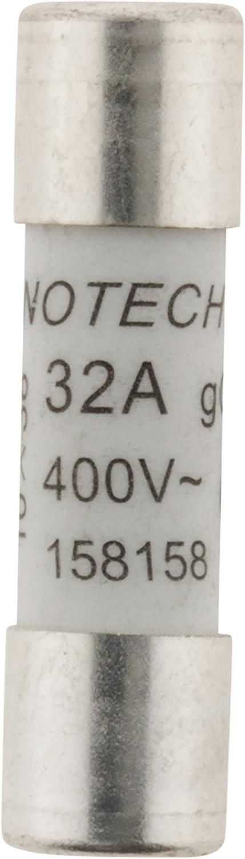 Zenitech 3 fusibles c/éramique 10,3x 38-32A avec voyant NF