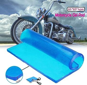 Universal Motorcycle Seat Gel Pad Polyurethane Elastic Fiber Seat Gel Cool Pad