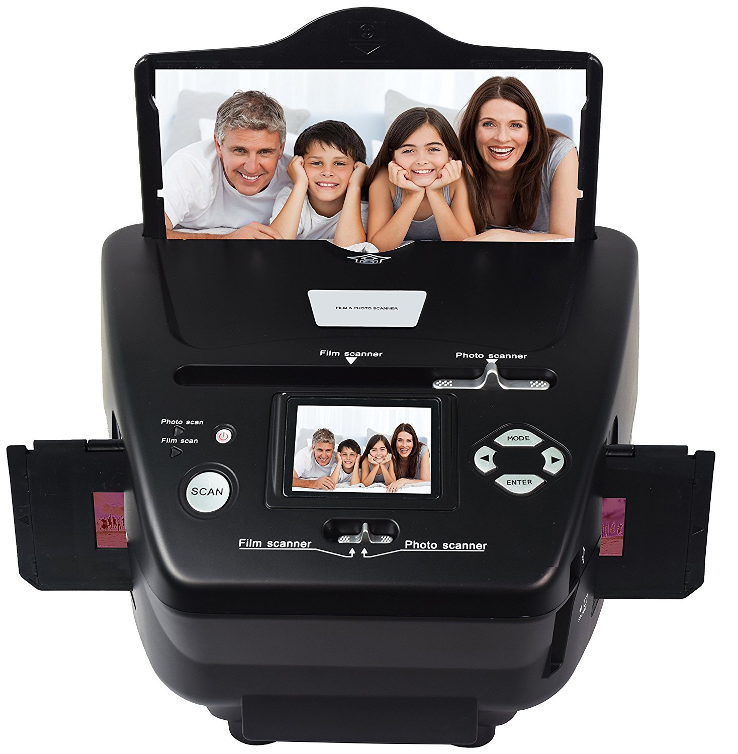 DIGITNOW 35mm /135slides&Negatives Film Scanner Photo, Name Card, Slides and Negatives to Digital Converter for Saving Films to Digital Files in 4GB SD card(Included) with Photo Editing Software