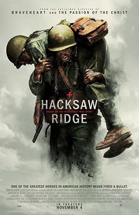 Hacksaw Ridge 2016 Full English Movie Download BluRay 480p 500MB