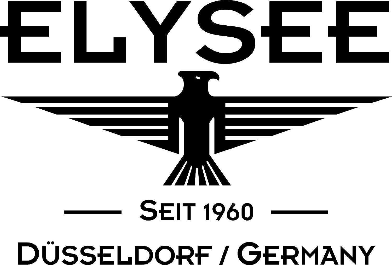 Elysee Minos Herrenuhr mit Chronograph und Datum Made in Germany Braun / Roségold
