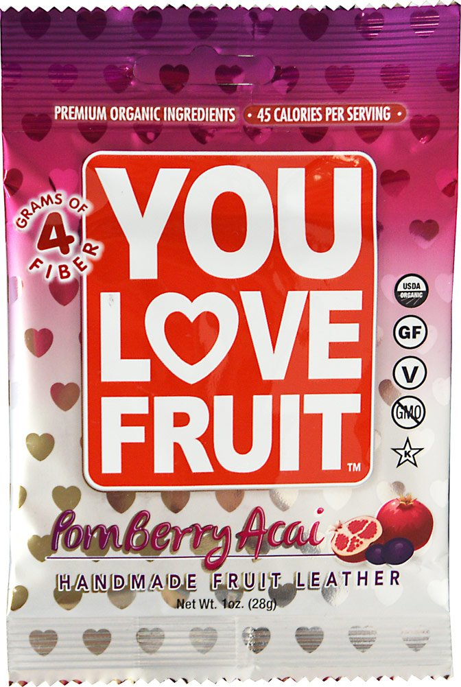 You Love Fruit Leather Pomberry Acai, 1 oz