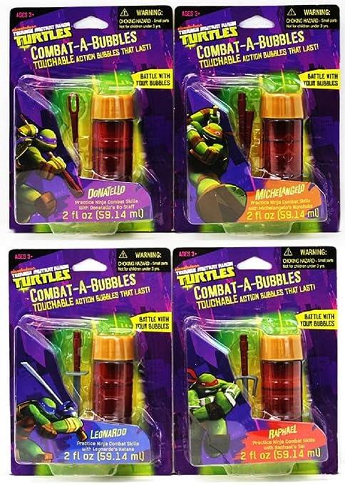 Amazon.com: Combat-a-Bubbles Teenage Mutant Ninja Turtles by ...