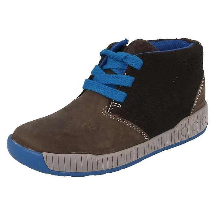 Clarks , Jungen Stiefel Grau grau: : Schuhe