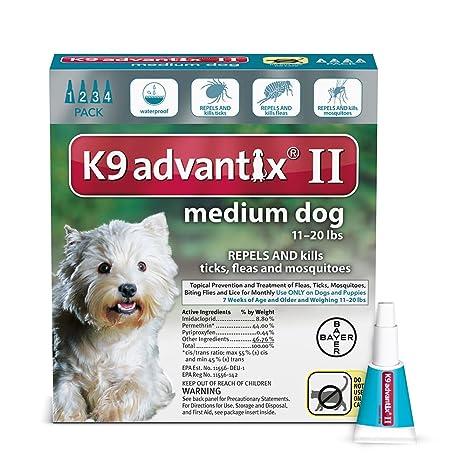 k9 advantix medium dog