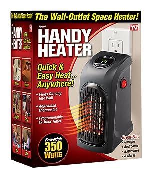 Handy Heater. La estufa eléctrica de bajo consumo ajustable y portátil