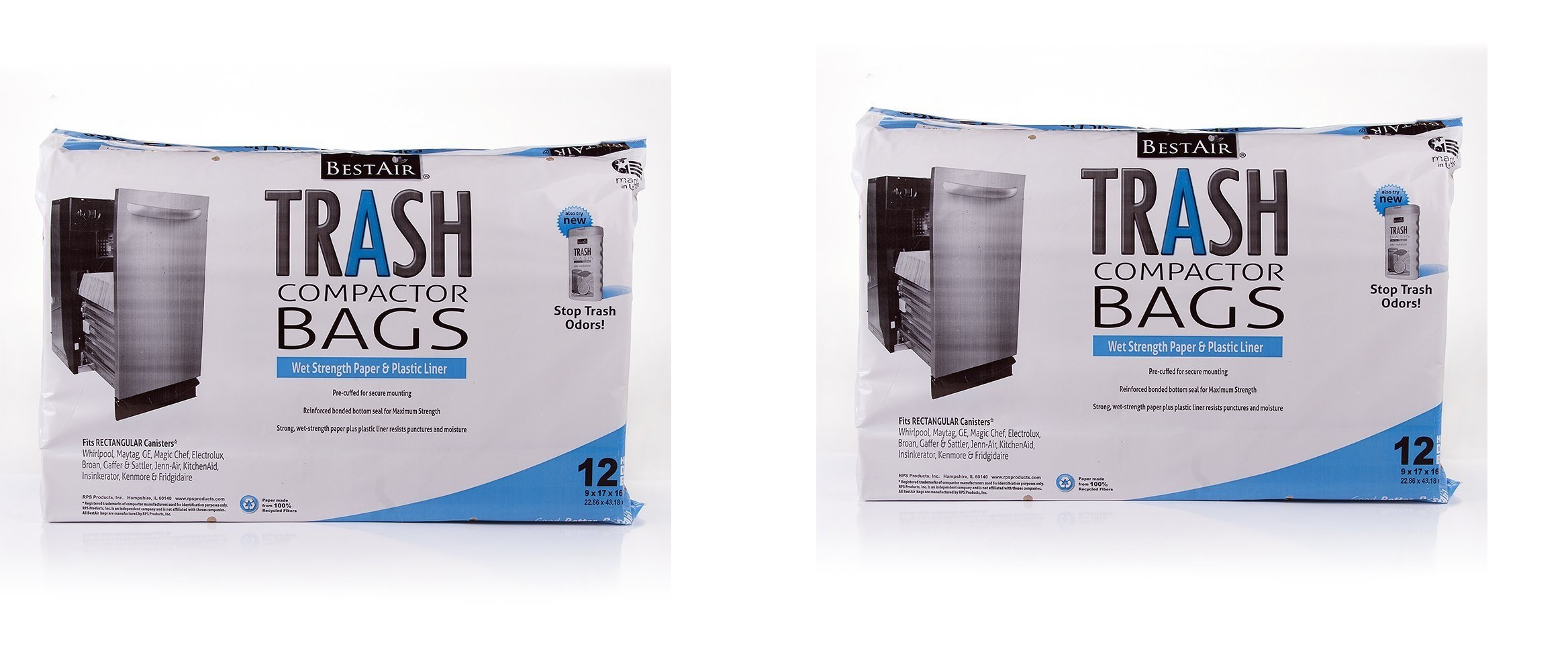 Trash Compactor Bags (2 Pack)