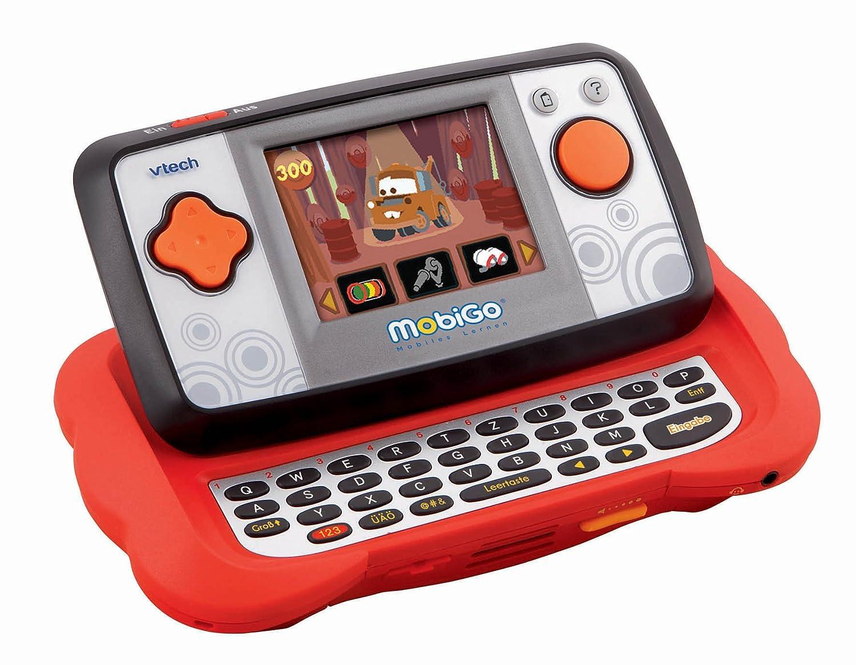 VTech 80-115874 - MobiGo rot inkl. Lernspiel  Cars 2