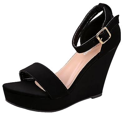 Top Moda Beryl Platform Wedge Sandal PiQpJzhIr