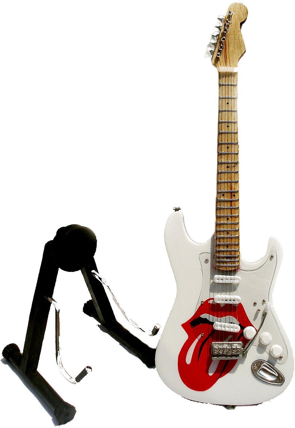Guitarra eléctrica Rolling Stones de ferrocarril – Madera ...