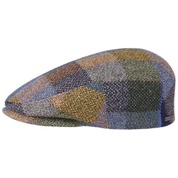 ec4fdec53ed Stetson Kent Patchwork Flat Cap hat Winter  Amazon.co.uk  Clothing