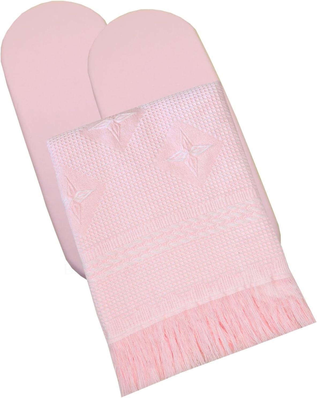 BabyPrem Baby Bedding Moses Bassinet Set 2 Fitted Sheets /& Shawl 80 x 40cm Pink