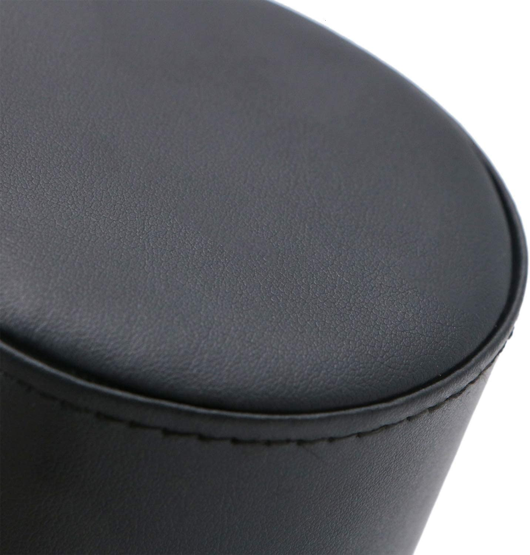 JETEHO Tie Travel Case Roll Necktie Case Leather Necktie Storage Travel Case for Men