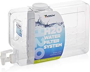 Arrow Home Products CLEARA H2O Filter System, 2.5 Gallon, Clear