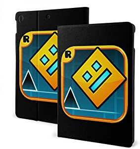 Geometry Dash Ipad Case Ipad 7th 10.2 Inch Ipad Air3 & Pro 10.5inch Lightweight Cover