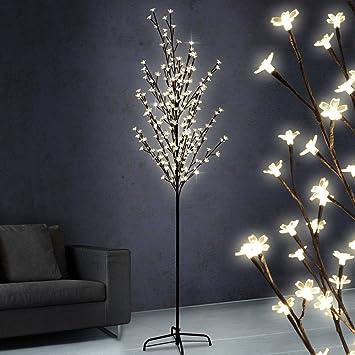 Lichterbaum 2.20m, Stromsparend Mit 220 LED Lichtern, In Blütenoptik U0026  Versch. Lichteffekten