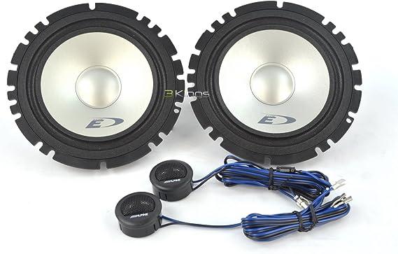 Alpine Type-E Series SXE-1750S - Altavoces de 2 vías para Audio de Coche de 6,5 Pulgadas