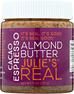 product image for Julie's Real Cacao Espresso Almond Butter - 9 Ounce - Pack of 6