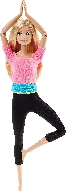Barbie - Muñeca movimientos sin límites - top color rosa - muñeca articulada - (Mattel DHL82)