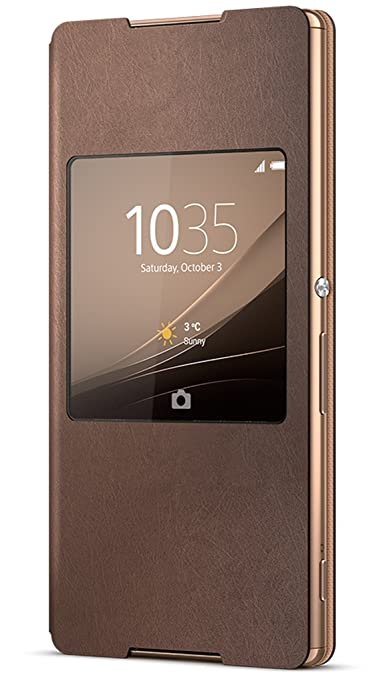 182 opinioni per Sony 1292-7053 Smart Style-UP SCR30 Xperia Z4 Copper