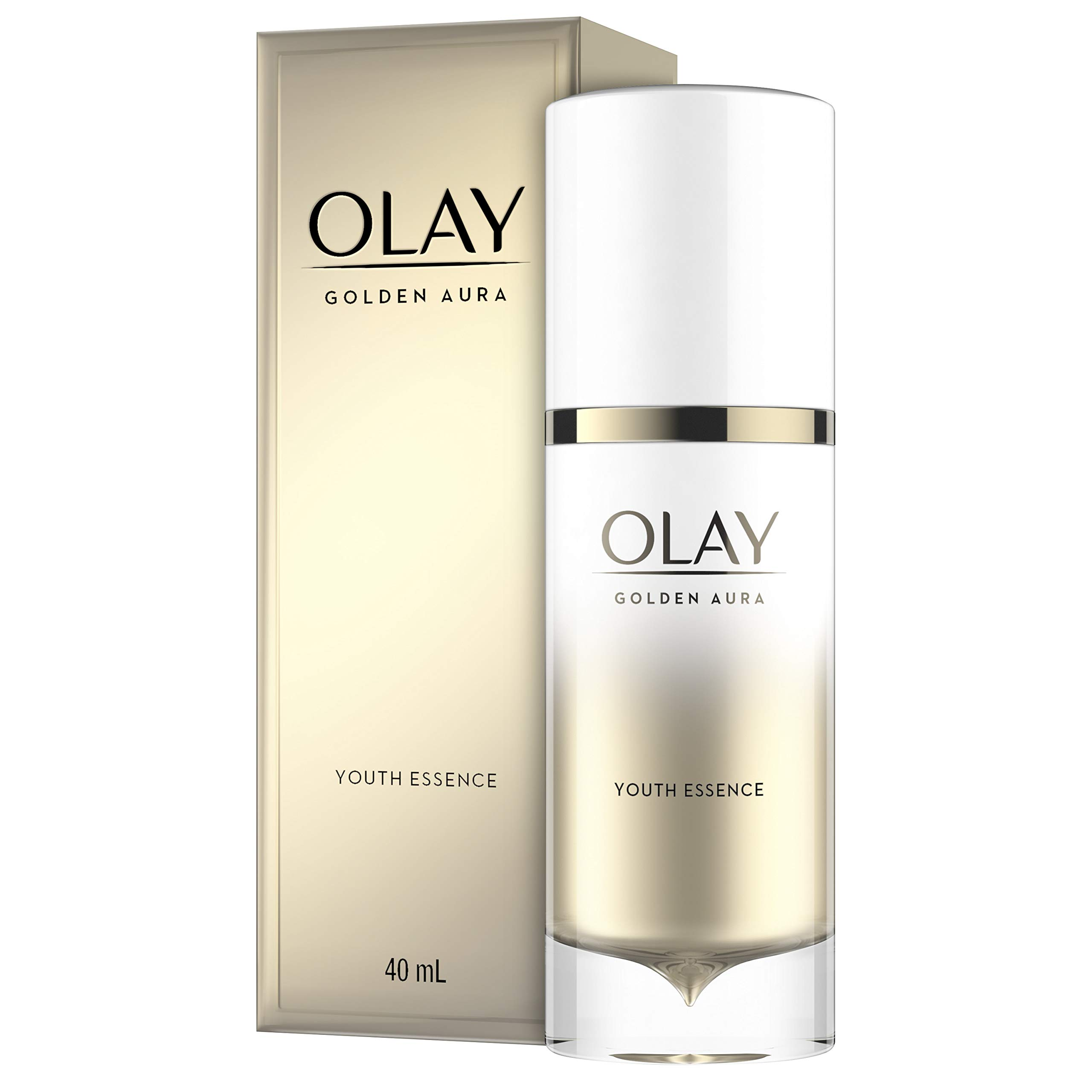 Facial Essence by Olay, Golden Aura Youth Essence, 1.3 Fluid Ounce by Olay (Image #1)