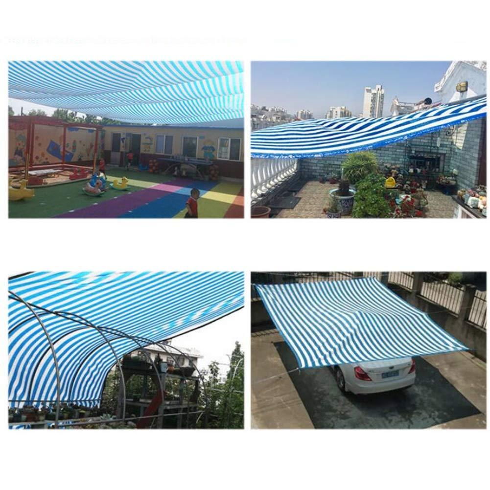 LIANGJUN Rete Parasole Telone Telo Telo Telo Protezione Solare Tessitura A 6 Pin Anti-UV Traspirante Resistente al Tiro Balcone All'aperto, Personalizzabile (colore   A, Dimensioni   5X6M) b4e982