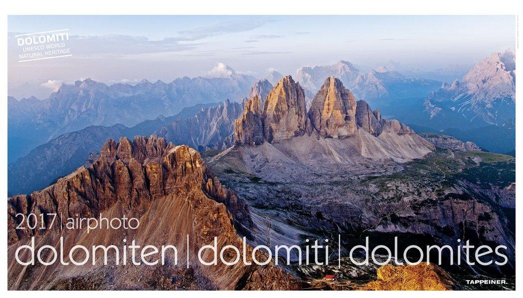 Luftbildkalender Dolomiten 2017