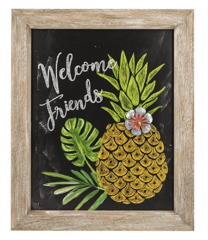 Ganz Home Garden Decor Wall Plaque Pineappl