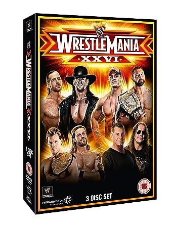 WWE: WrestleMania 26 [DVD] by John Cena: Amazon.es: John Cena, Edge, Shawn Michaels, Undertaker, unknown: Cine y Series TV