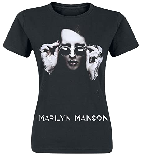 Marilyn Manson Specks Maglia Donna Nero