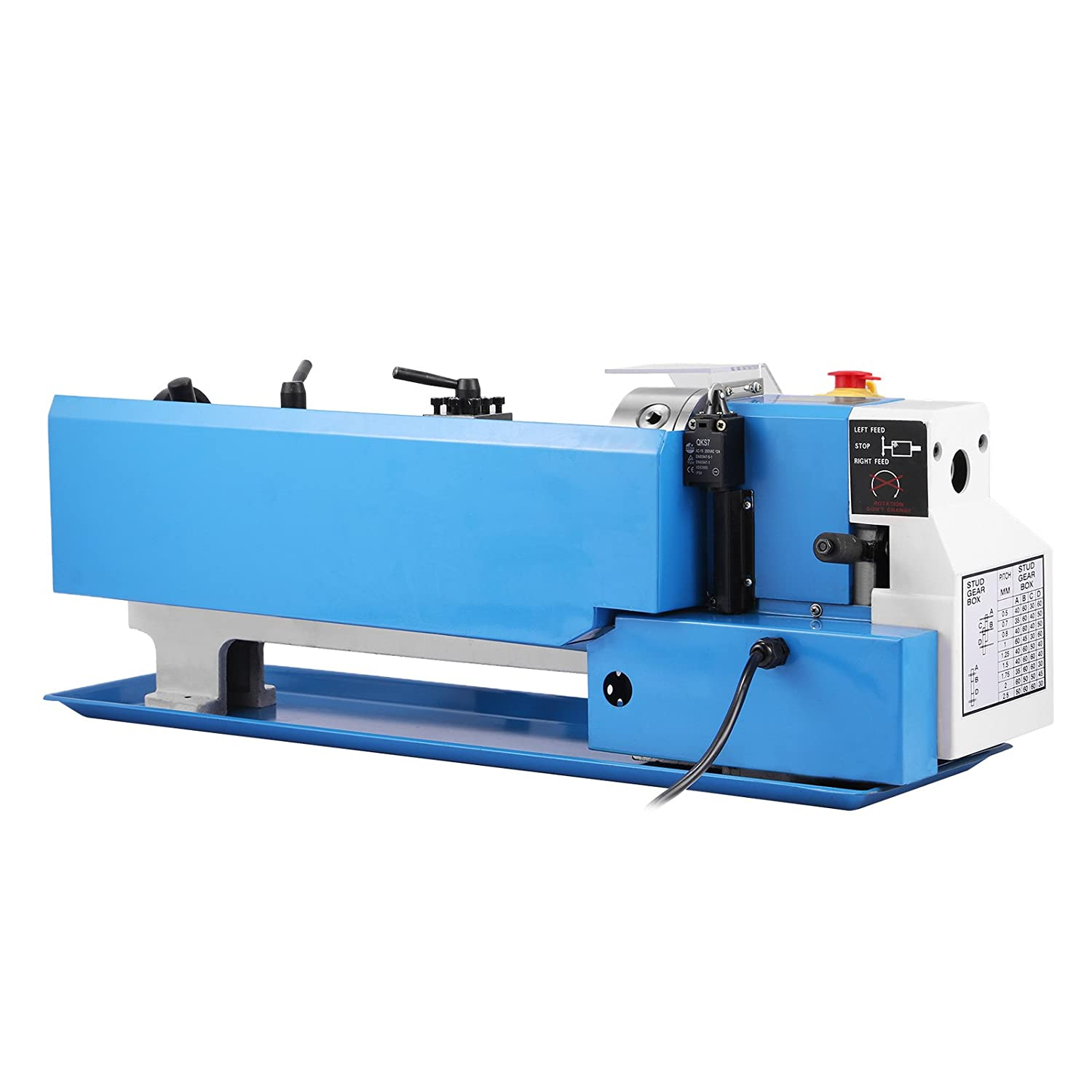 Ultraselect Metal Lathe 7 x 14-Inches Precision Mini Lathe Variable Speed 2500 RPM 550W Mini Metal Lathe Micro Metal Milling Bench Top Lathe Machine 7 x 14 Inch 550W