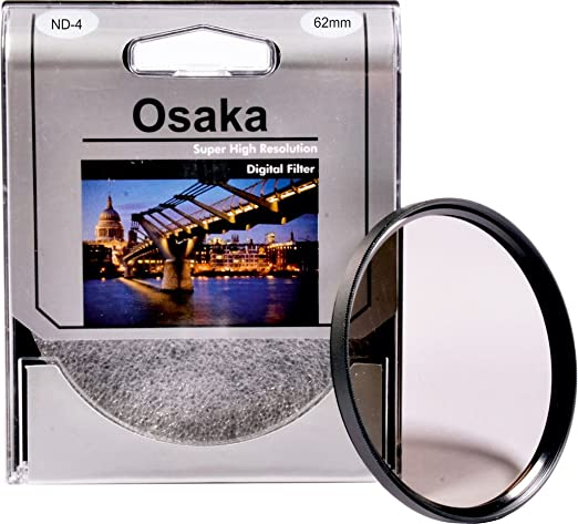 Osaka 62mm ND4 Neutral Density Filter Neutral Density Filters