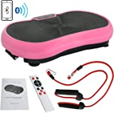 Nova Microdermabrasion Crazy Fit Full Body Vibration Platform Massage Machine Workout Trainer with Bluetooth Music Connection