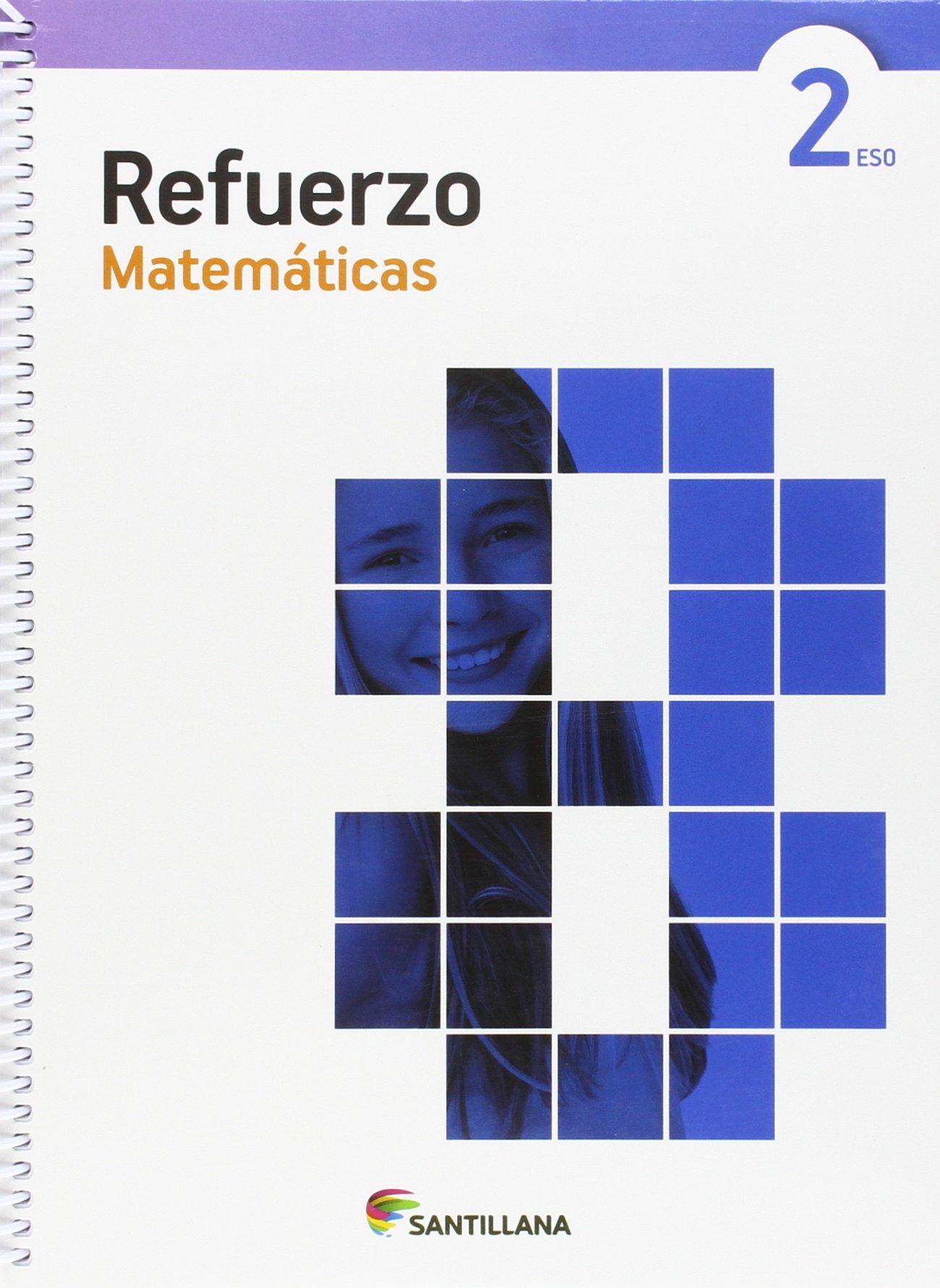 Amazon Com Cuaderno Refuerzo Matematicas 2 Eso Spanish Edition 9788468087542 Books