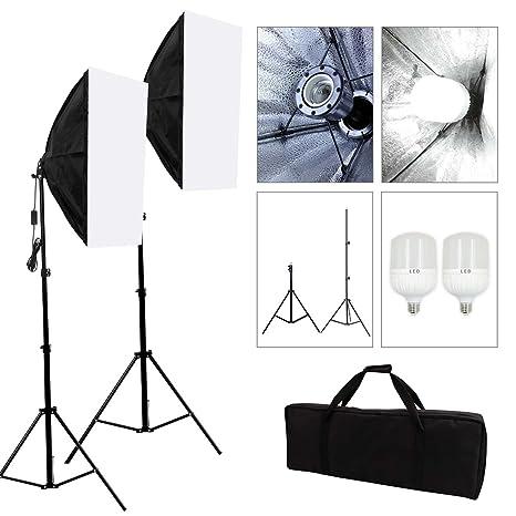 Onwijs Fotostudio Studioleuchte Fotoleuchte Studioset Softbox: Amazon.de TB-41