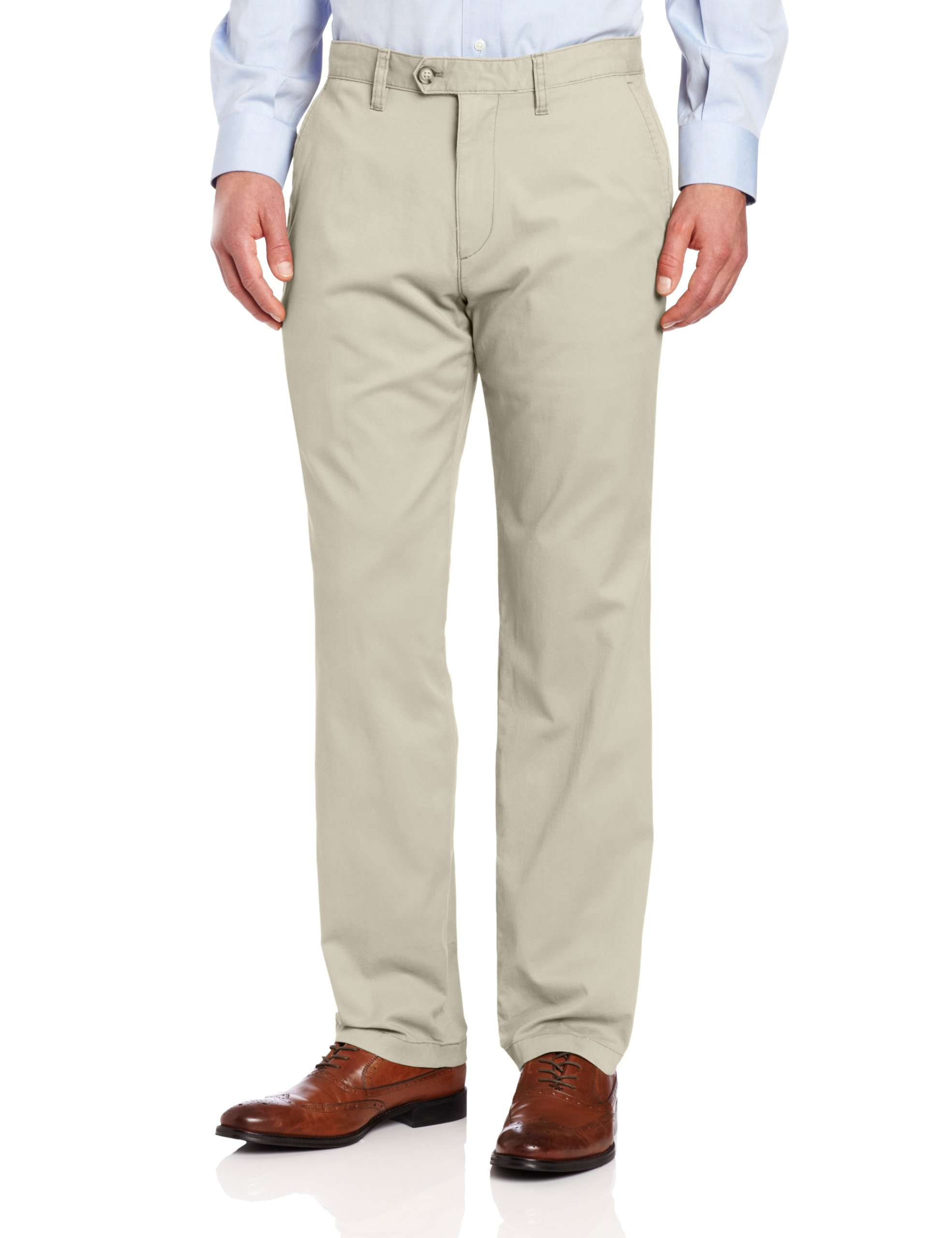 Nautica Men's Beacon Pant, True Stone, 34x30