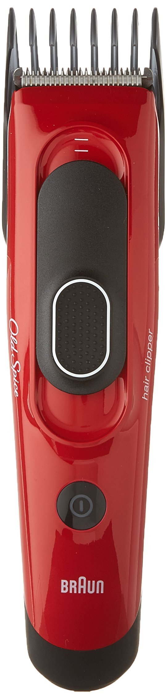 Old Spice Hair Clippers, powered by Braun, Washable with 8-Setting Adjustable Comb for Precision Trimming