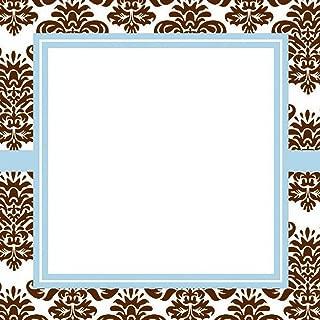 product image for Three Designing Women Designer Self Adhesive Stickers, Orange Medallion Collection