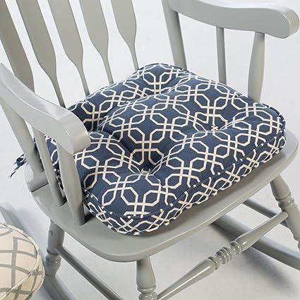 Beau Home Improvements Indoor Dining Chair Cushion Rocking Chair Seat Cushion Pad  19u0026quot; W X 18u0026quot