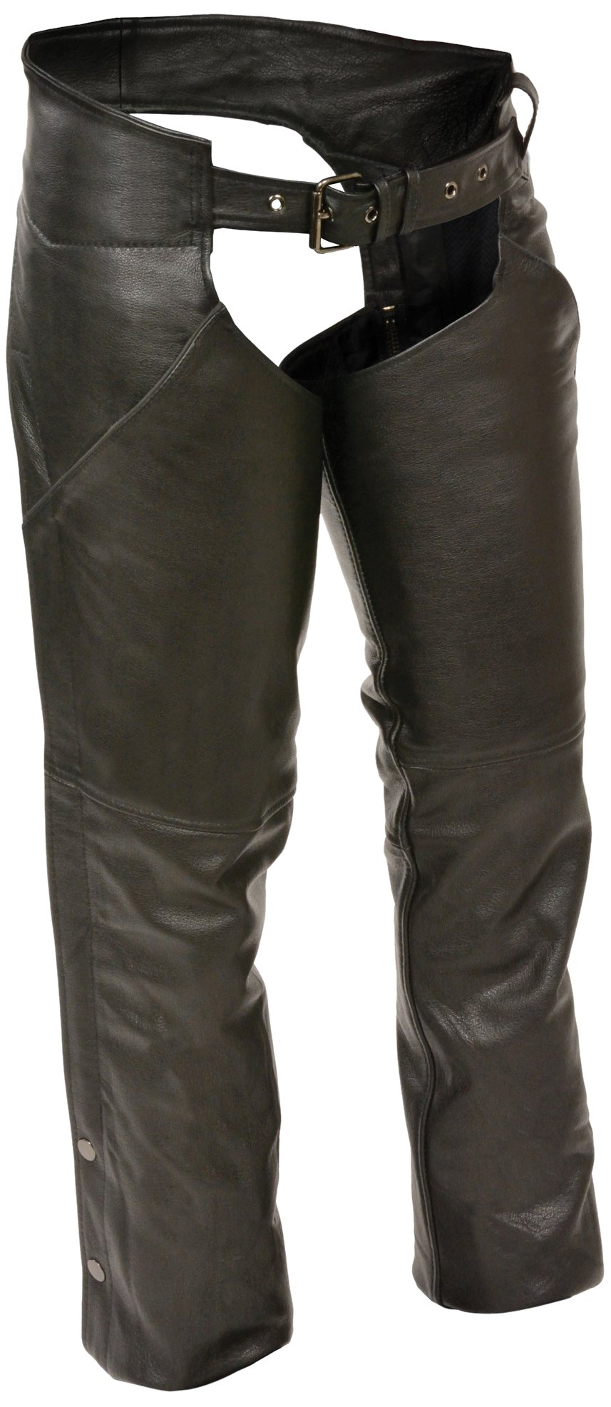 Milwaukee Women's Basic Chaps with Deep Pockets (Black, X-Large)