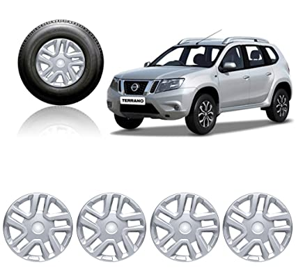 Autopearl Car Full Cap Wheel Cover for Nissan Terrano: Amazon.in: Car & Motorbike