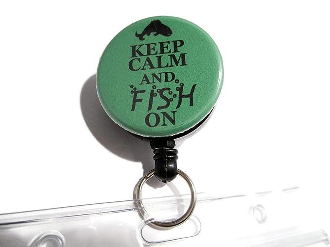 Amazon.com: atlanyards Keep Calm And de peces pesca licencia ...