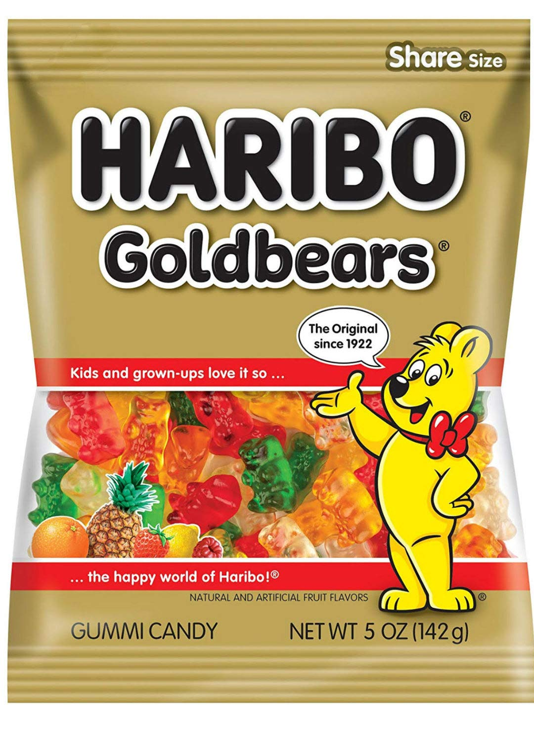 Haribo Gummi Bears 5oz by Haribo