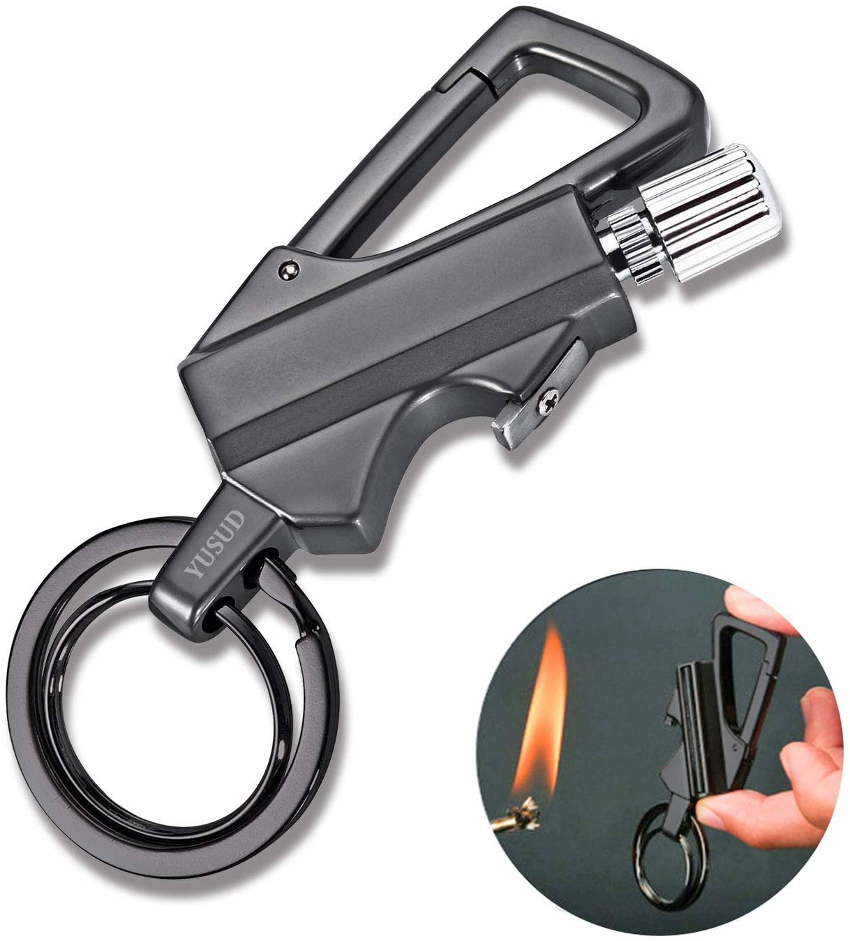 6 X 1 Fast shipping !!1 Safety and protection  FLAMAZING  Keychain for HER...Set Combo of 6 pieces in one