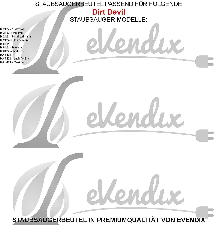 20 Staubsaugerbeutel geeignet für Dirt Devil M8030 M 8030 M 8038 M8038 R9