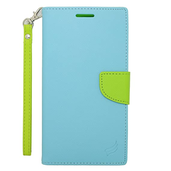 96a1bc396dc Amazon.com: Eagle Cell Flip Wallet PU Leather Protective Case for ...