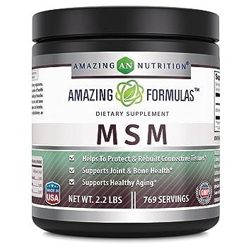 Amazon com: Amazing Formulas MSM (Methylsulfonylmethane