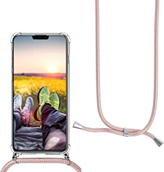 MXKOCO Carcasa de movil con Cuerda para Colgar iPhone 11 Pro MAX ...