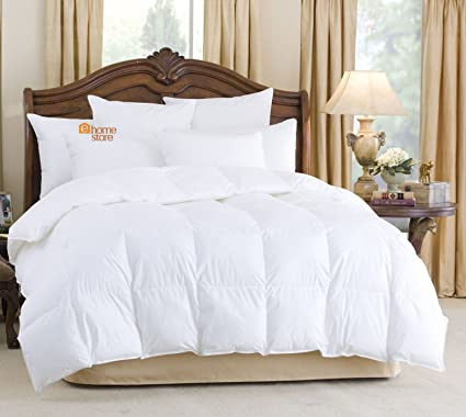 011677f72a3 ALL SEASONS COMBINATION GOOSE FEATHER AND DOWN DUVET QUILT 15.0 TOG  (10.5+4.5) (Single 135cm x 200cm)