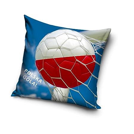 Carbotex Polonia - Cojín para balón de fútbol (40 x 40 cm ...